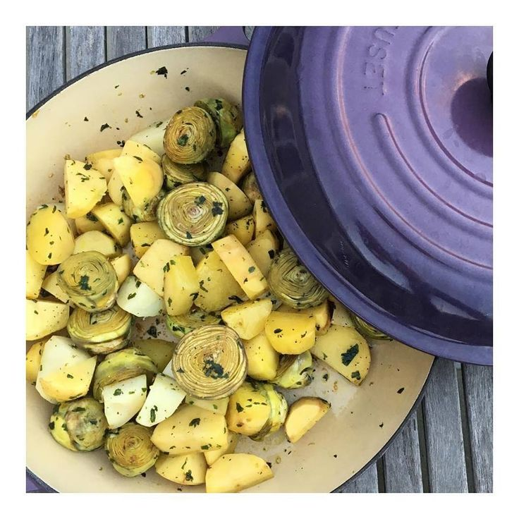 """Thank you spring for bringing artichokes! You will melt for this """"a la Barigoule"""" version"""