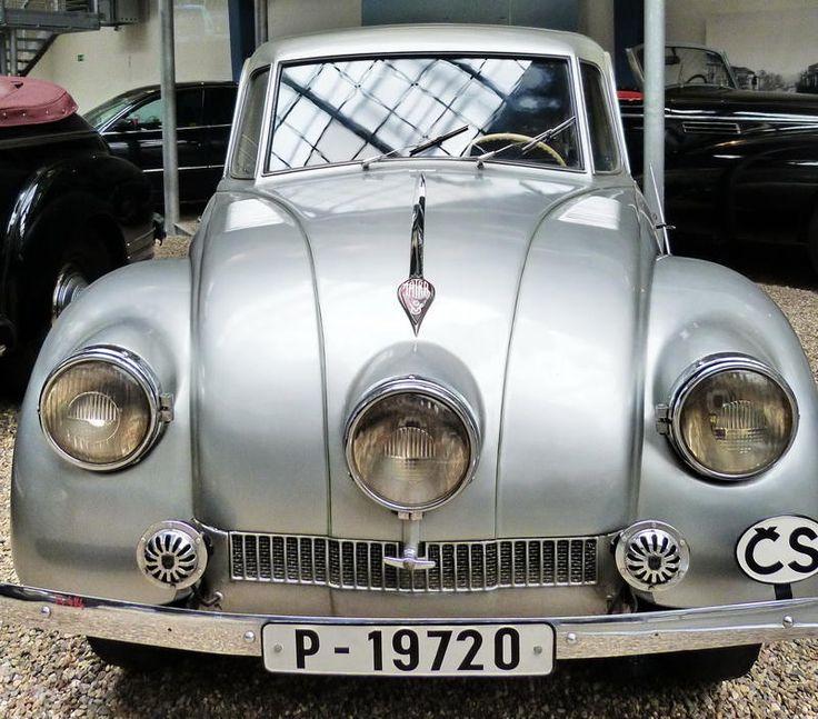 Tatra 87 - 1947 - Vintage car at the National Technical Museum of Prague, Czech…