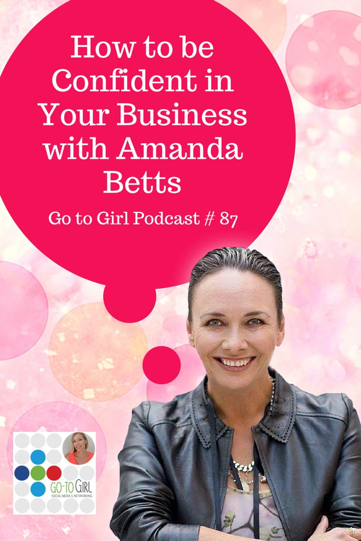 """Confidence is key when it comes to running your own business, and life in general actually… So for this podcast I brought in Amanda Betts, from Over 2U and the Bridge the Gap Project.  She's a business friend and a woman with an amazing story and a huge heart.  Click to visit the Go to Girl podcast & blog where Amanda shares tips on """"Owning your Confidence and Giving Back""""."""