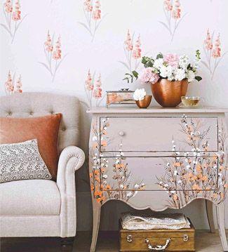 Da nueva vida a tus muebles con un poco de pintura!