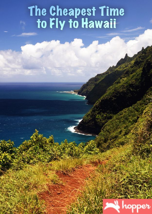 The Cheapest Time to Fly to Hawaii! #travel travel hacks, travel hacking