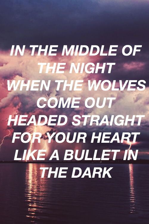 Wolves lyrics by one direction