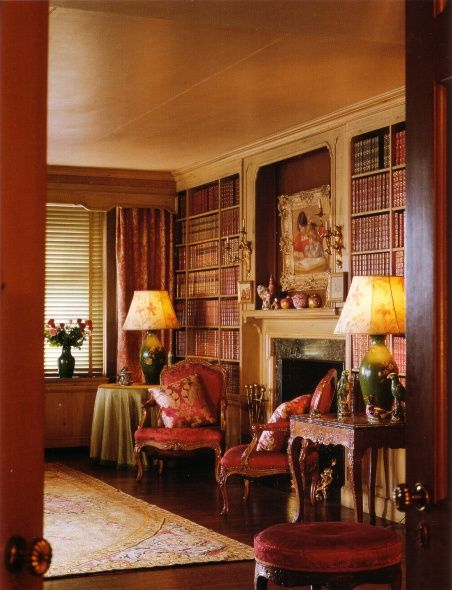 Pin By Jennifer Donahue On Homes Of The 1 Home Libraries New York Apartments Decor