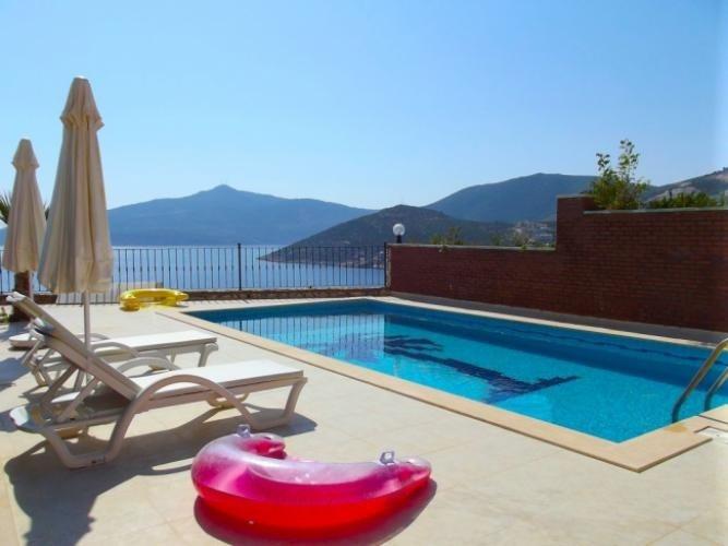 Kalkan Villa Rentals In Turkey | Stunning Luxury Villa (Olympos Villa 2)  #sea