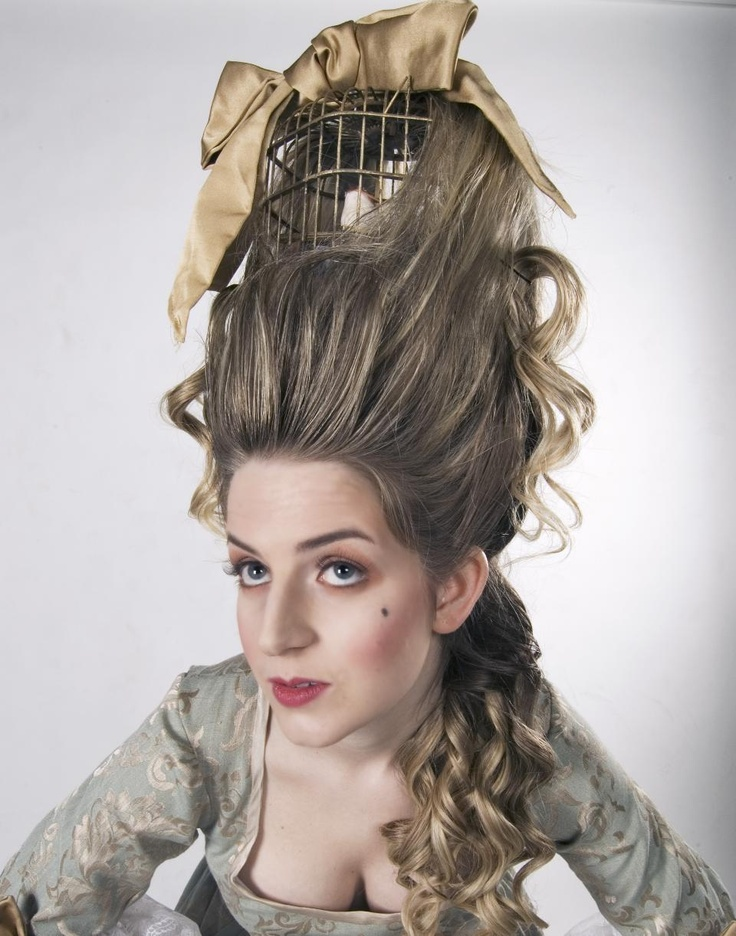 hair day styles antoinette hair with bird cage antoinette 1628