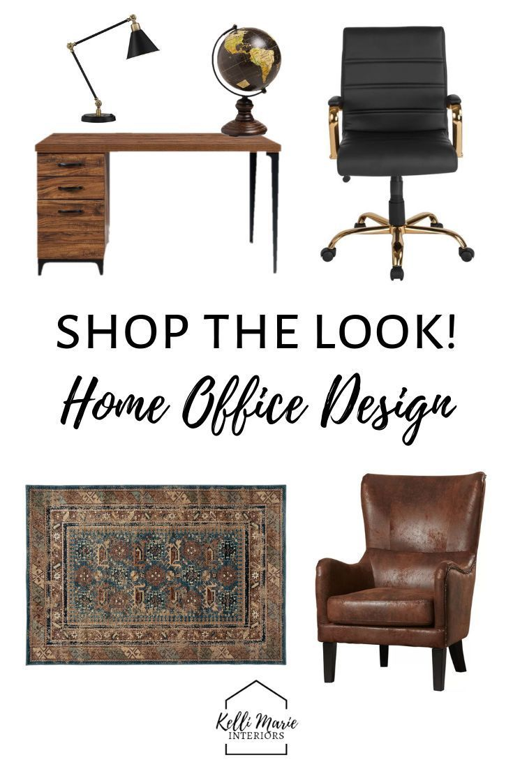 How Do You Design Home For Someone With >> 3 Styles For Your Home Office Kelli Marie Interiors Blog Home