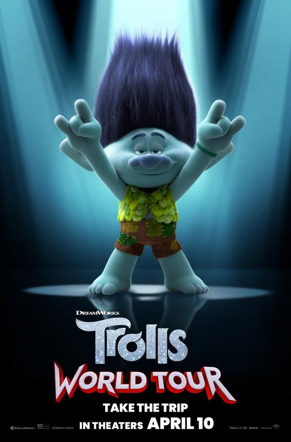 Pin On Trolls Movie And Show
