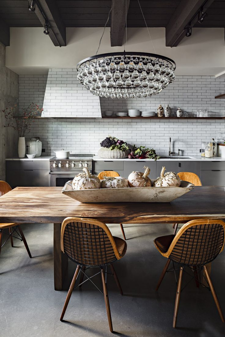 Jessica Helgerson Interior Design   Portland Loft Dining   © Lincoln Barbour 1   Est Magazine