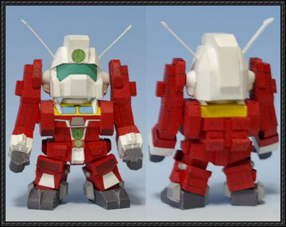 SD Space Runaway Ideon Free Papercraft Download - http://www.papercraftsquare.com/sd-space-runaway-ideon-free-papercraft-download.html