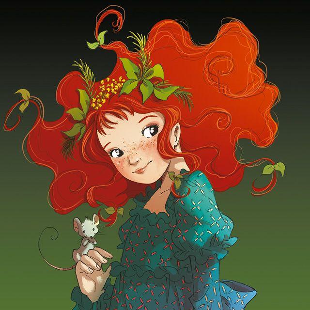 FairyOak - Shirley era una bella ragazzina, con una nuvola di capelli rossi intorno al viso tondo, completamente coperto di lentiggini, e gli occhi grandi, lucidi e neri come mentine di liquirizia. Sorrideva a tutti e aveva sempre con sé un topolino e un cane simpatico...