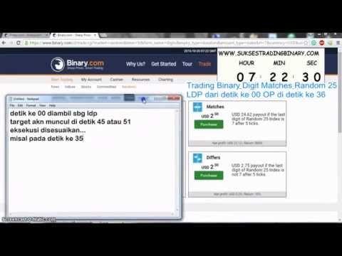 Trading Binary DM Random 25 ldp dari detik 00 op detik 36 ~ Gratis Panduan Sukses Trading Binary.com