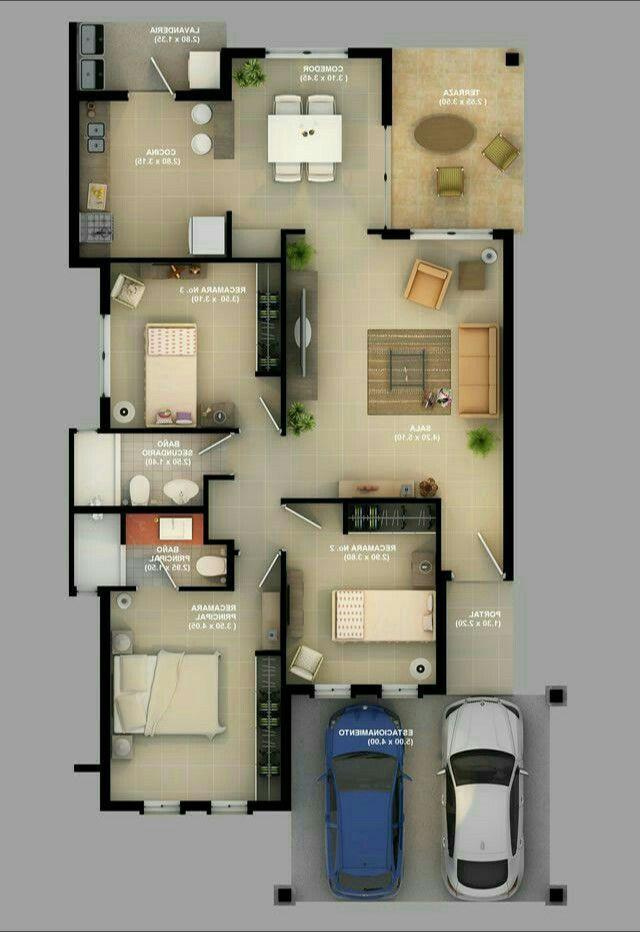Small Home Minhasdecor Com Modernas Projetos De Casas Terreas Plantas De Casas Edificios Modernos