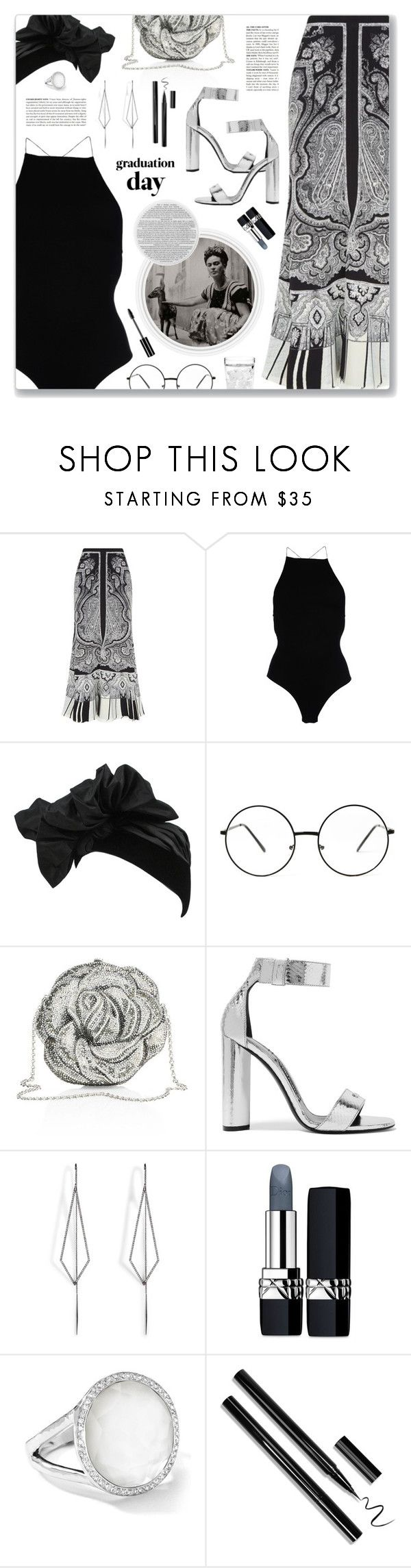 """Tranquilo (feat. Bad Bunny), Kevin Roldan"" by blendasantos ❤ liked on Polyvore featuring Alexander McQueen, FRIDA, T By Alexander Wang, Yves Saint Laurent, Judith Leiber, McGinn, Tom Ford, Diane Kordas, Christian Dior and Ippolita"