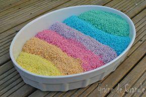 Riz coloré: Une nouvelle expérience sensorielle!