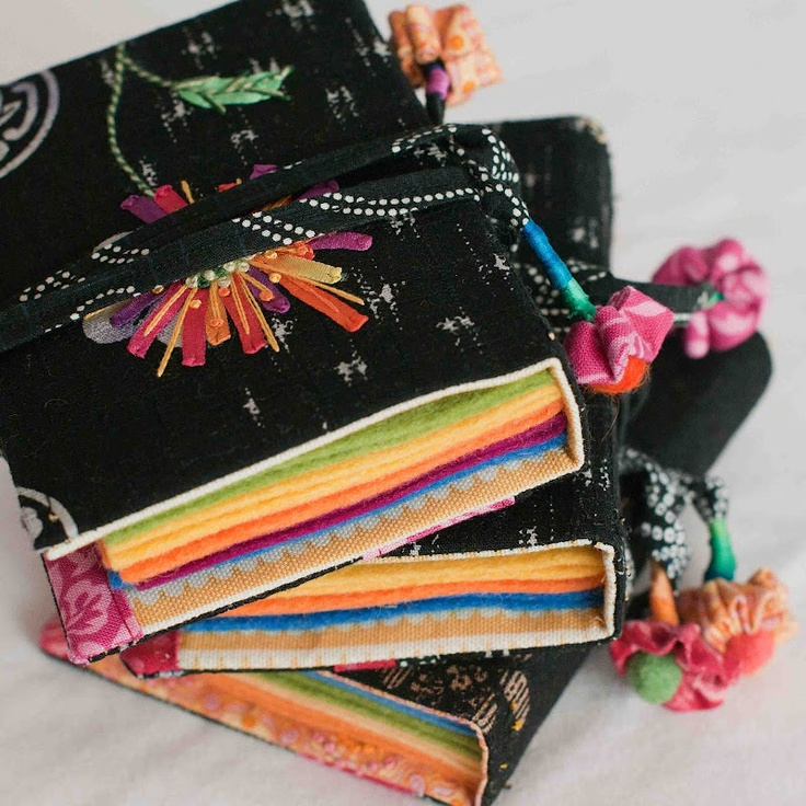 Book Cover Sewing Kits : Best needle book ideas on pinterest