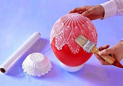 Croche e Pontos: Cesta de croche como fazer para endurecer