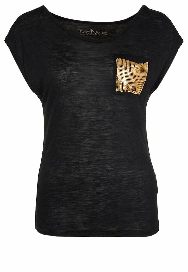 Best Mountain - Basic T-shirt - black