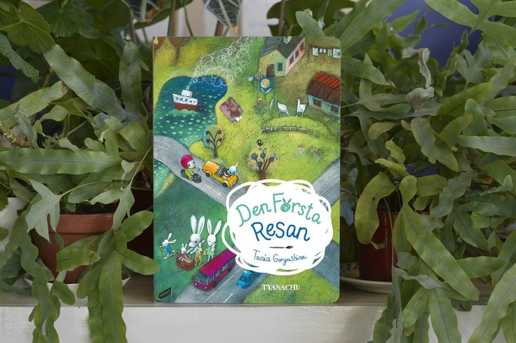 This beautiful cardboard book with elaborated drawings is for kids 0-5. Published in 2017 in Swedish language. ISBN SE9789198421910  Pages 14 It is available for ordering directly from the publisher TYANACHU contacy@tyanachu.com