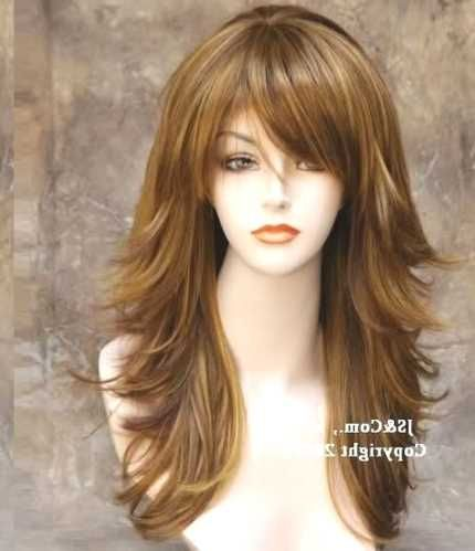 Long Layered Hairstyles With Bangs For Thick Hair Http