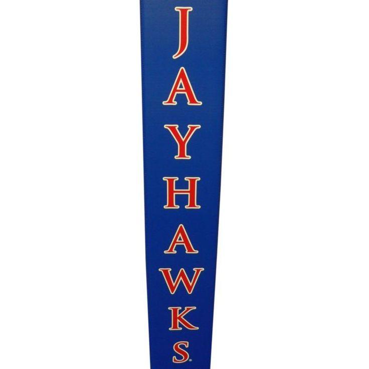 Goalsetter Kansas Jayhawks Basketball Pole Pad, Blue