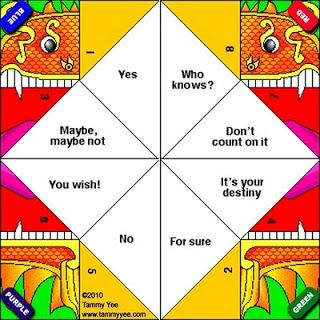 Origami n' Stuff 4 Kids: Dragon Fortune Teller