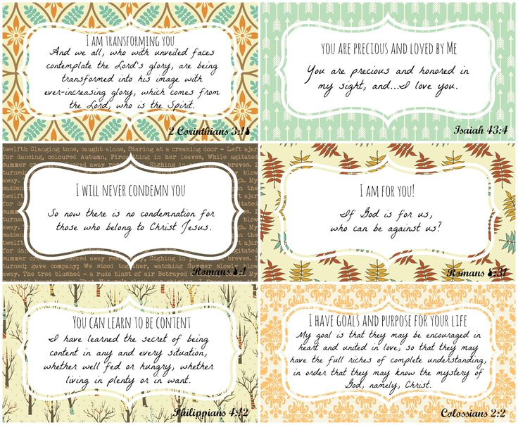 """Enjoy these FREE printables from P31 Online Bible Studies taken from Chapter 12 of our current study """"A Confident Heart"""" by Renee Swope.   Set 4"""