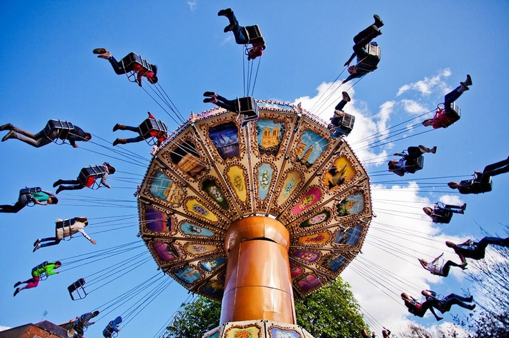 From carousels to roller coasters, family attractions to Ferris wheels, there was lots of family fun at the St. Patrick's Festival