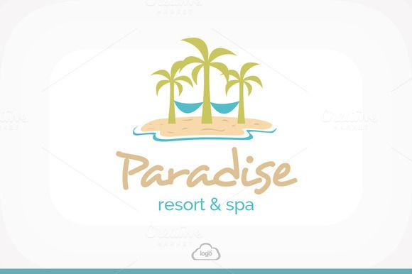 Check out Paradise Resort & Spa Logo by Logo Heaven on Creative Market -> http://crtv.mk/imM8