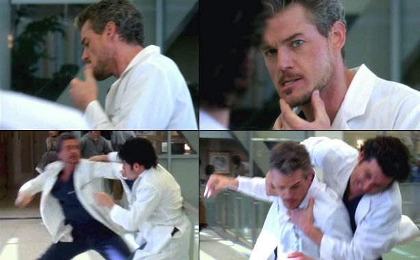 Best Meredith and Derek Moments | ... him into a lot of scraps. In season 5, he defied orders from Derek