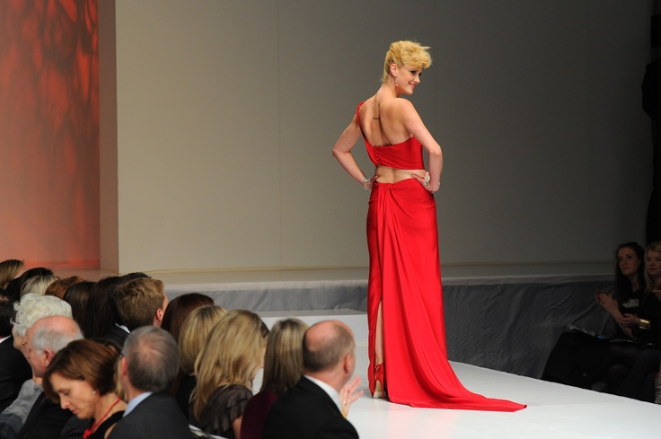 Lauren Lee Smith wearing Ines Di Santo - The Heart Truth Canada