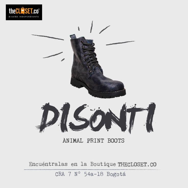 Las #botas el #mustbe de esta semana en nuestra tienda, combínalas con #jeans #faldas #leggins #vestidos #shorts DISONTI CALZADO TheCloset.co Store Cra. 7 # 54a - 18 L-3 #DiseñoIndependiente