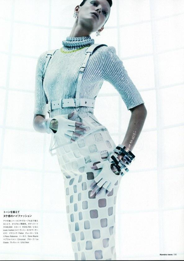 awesome Numéro Magazine Tóquio   Editorial de Moda Maio 2013   Ava Smith