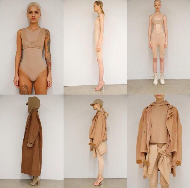 Kanye West arranged his models by skin color at New York Fashion Week