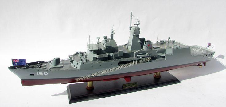 HMAS Anzac FFH150 ship model