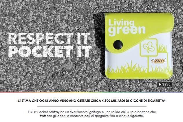 #posacenere portatile ignifugo. www.gedshop.it