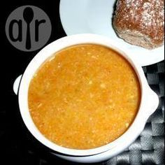 Simple lentil and bacon soup @ allrecipes.co.uk