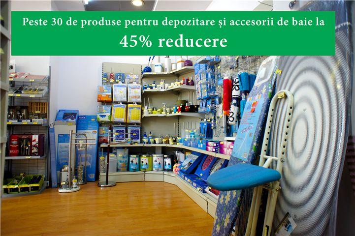 Ia și vizitează-ne ca să te bucuri de produse și accesorii pentru baie la 45% reducere :) în magazinul #Frarom #Shop din #Iași