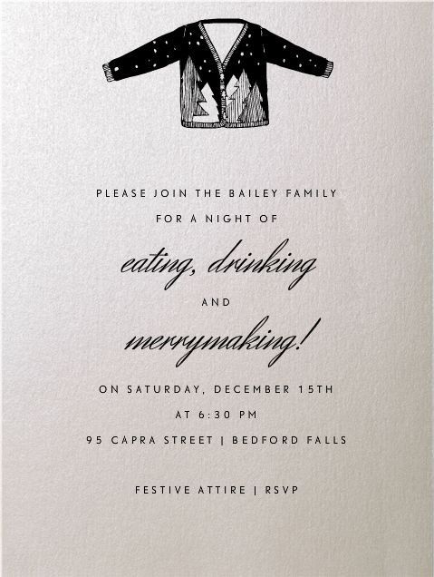 17 Best images about Online Christmas Party Invitations on – Christmas Party Invitations Online