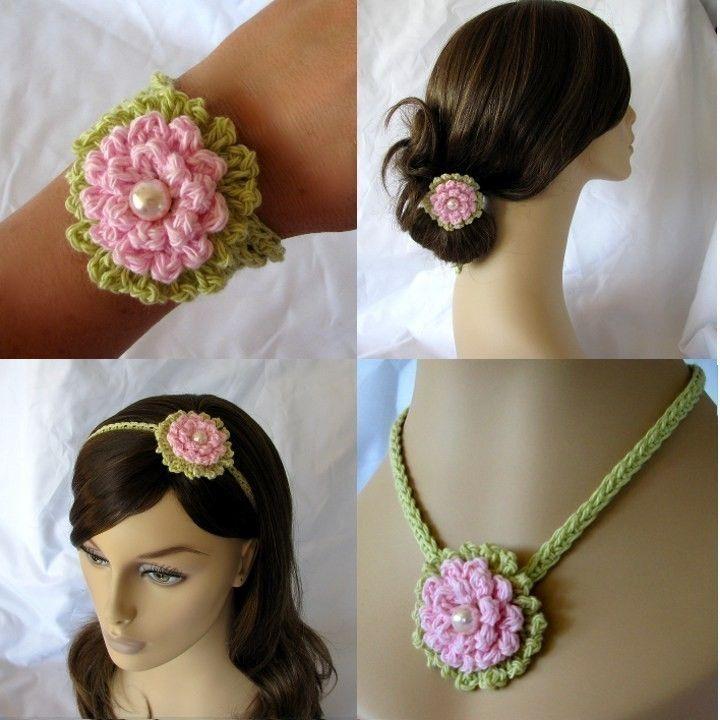 133 best Crochet - Flowers images on Pinterest | Crochet flowers ...