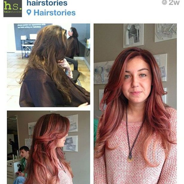 This color is called DUSTY ROSE.  INSTAGRAM FAVORITES: Ombre Fail, Before and Afters, Makeovers