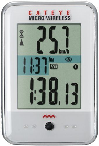 Cateye Micro Wireless Cycling Computer - http://mountain-bike-review.net/cateye-micro-wireless-cycling-computer/ #mountainbike #mountain biking