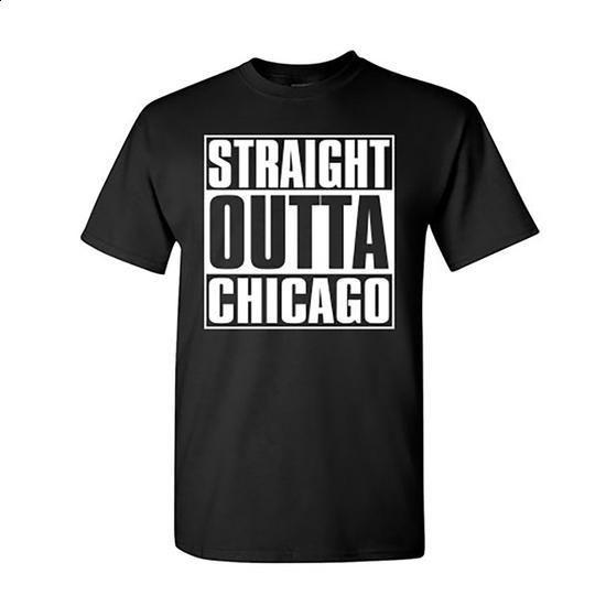 Straight Outta Chicago - #graphic tee #orange hoodie. CHECK PRICE => https://www.sunfrog.com/Sports/Straight-Outta-Chicago.html?60505