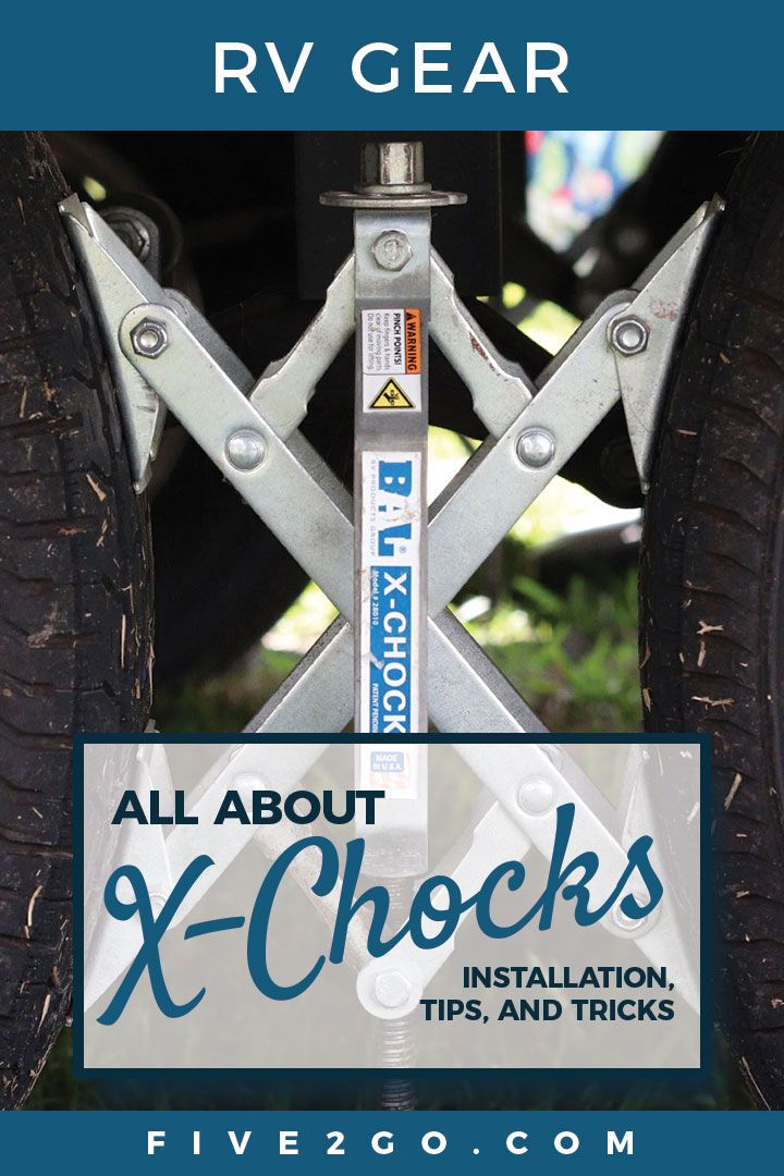 All About X Chocks Recreational Vehicles Camping Essentials