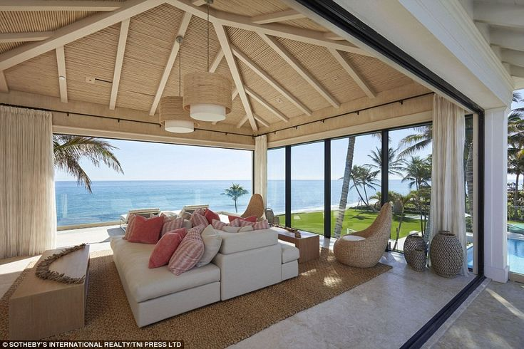 Cabana life: Making the property perfect for entertaining, the property features a luxury ...