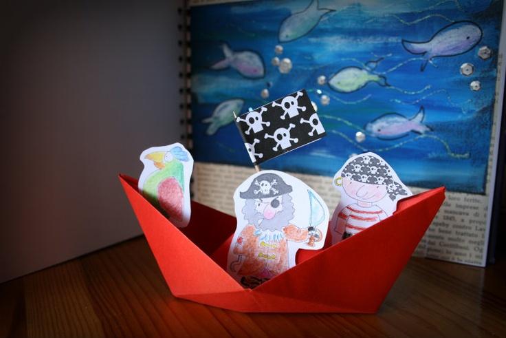 a casa di eli per l'ora del tè: Come organizzare una caccia al tesoro dei pirati per bambini a casa propria