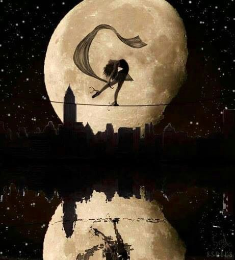 Absolutely no meaning for me but I have a weird fascination with tightrope walkers and I'd love a variation of this as a tattoo.