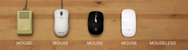 Mouseless - an invisible computer mouse. Pranav Mistry