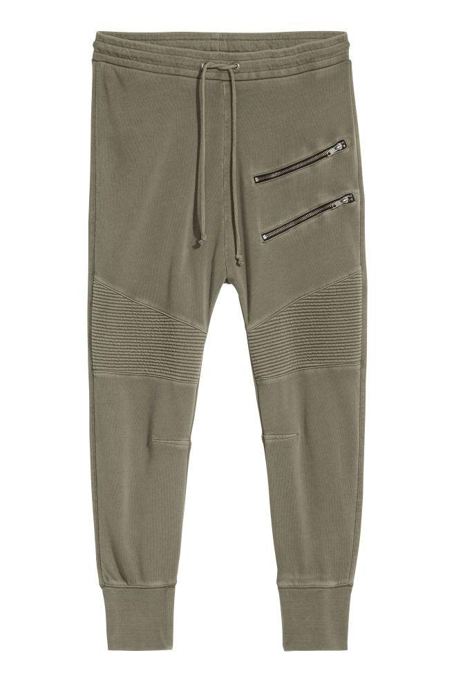 Pantalón de chándal - Verde caqui - MUJER | H&M ES 2