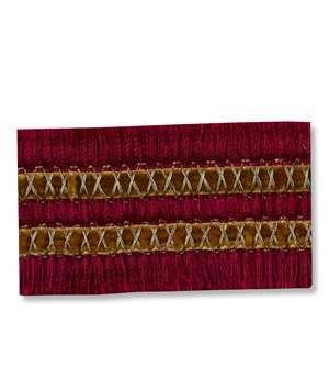 Robert Allen Alchemy Braid Ruby Trim - $66.7 | onlinefabricstore.net