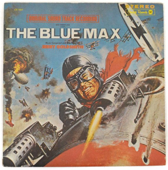 Vintage 70s Jerry Goldsmith The Blue Max Original by Dopedoll
